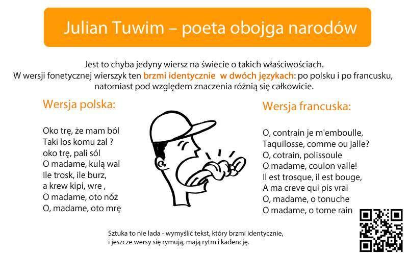 Wiersz - Julian Tuwim