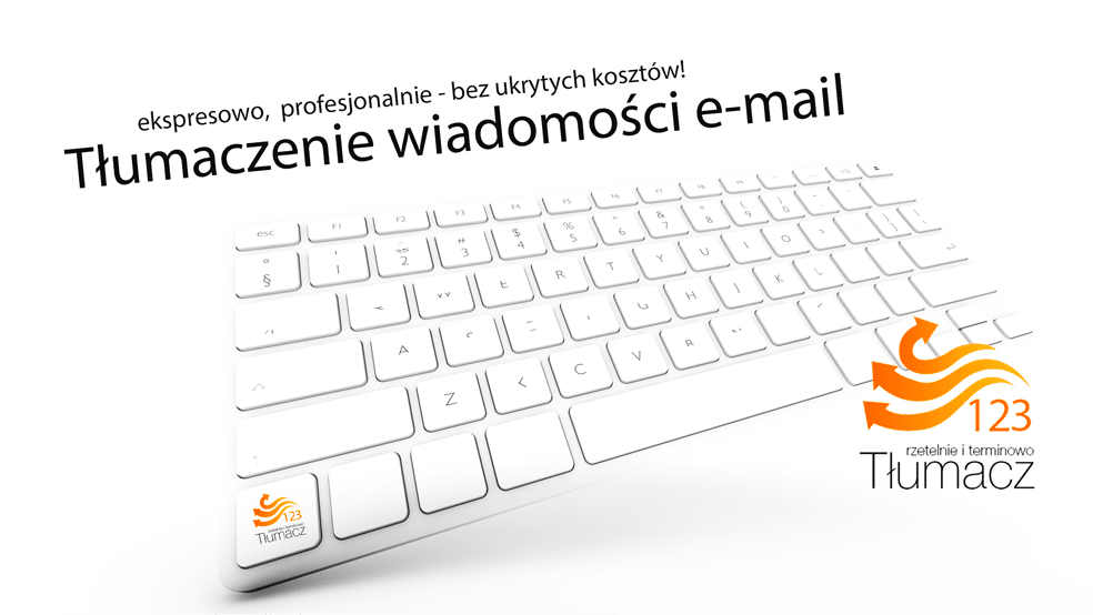 tłumaczenia e-mail