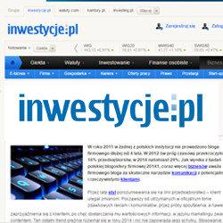 Portal Inwestycje.pl - Przedsiębiorcy przypisują blogom firmowym coraz większe znaczenie