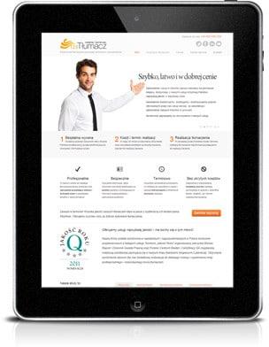 mobilna strona internetowa