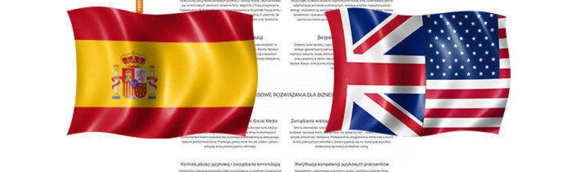 Tłumaczenia angielski – hiszpański