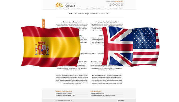 Tłumaczenia angielski - hiszpański