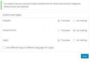 konfiguracja tłumaczenia WPML