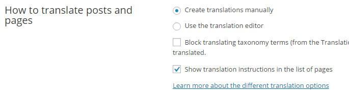 wielojęzykową witrynę w WordPressie