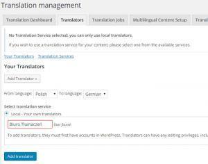 Tłumaczenia wordpress