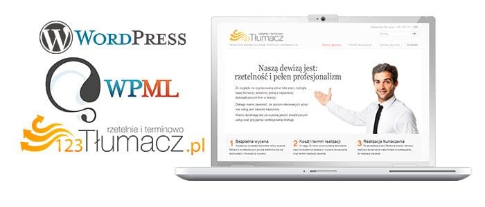 Tłumaczenie strony za pomocą WPML