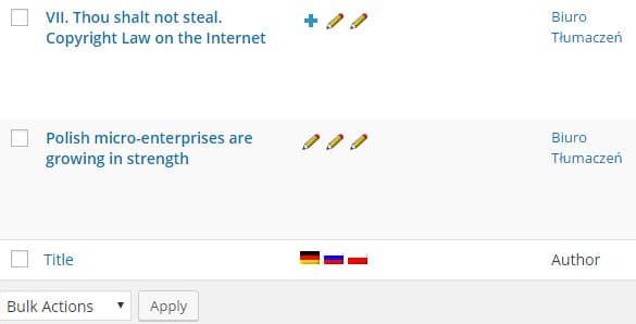 Wielojęzyczne strony typu e-commerce – WPML