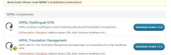 tłumaczenia w WPML
