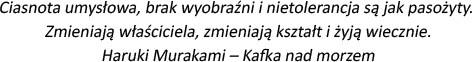 Haruki Murakami cytat