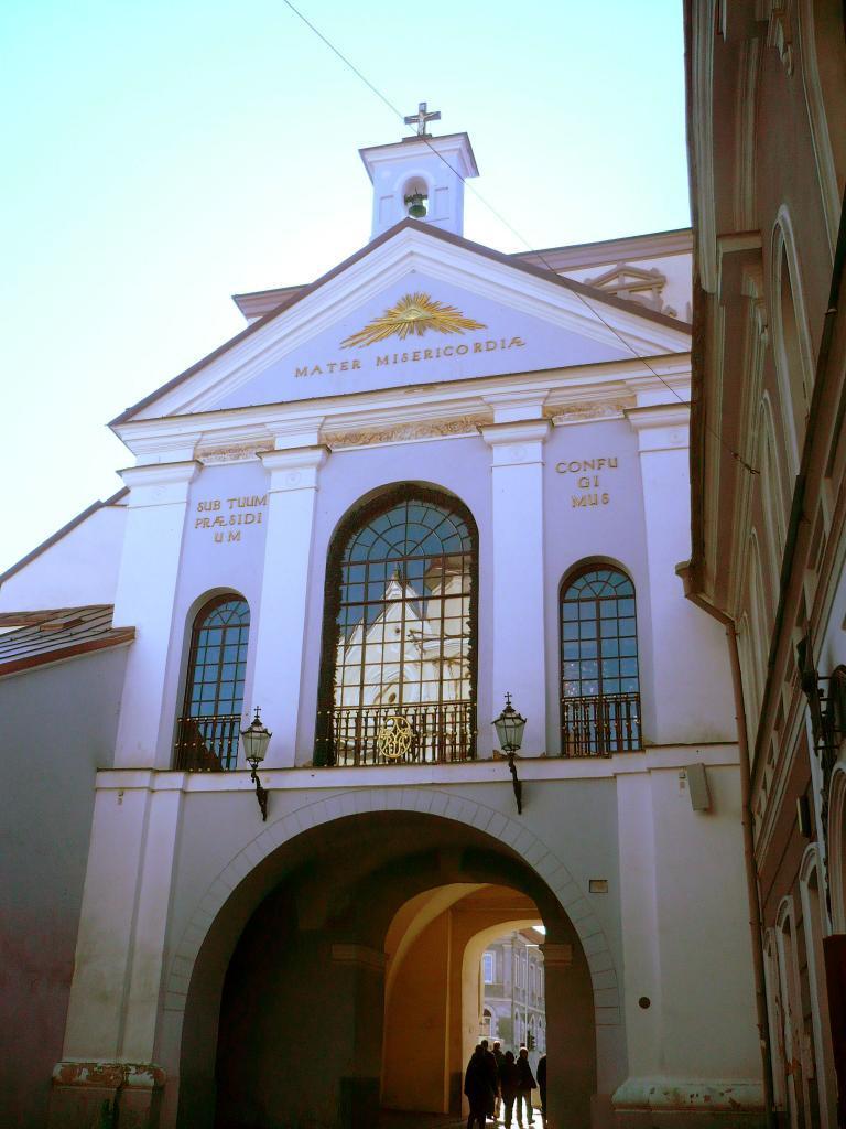 Ostra Brama w Wilnie – litewskiej stolicy