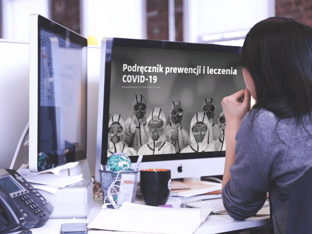 Podręcznik prewencji i leczenia COVID-19 - koronawirus
